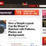 How a Simple Layout Can Be Mixed 'n' Matched with Patterns, Photos and Backgrounds