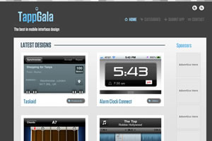TappGala- The Best in Mobile Interface Design