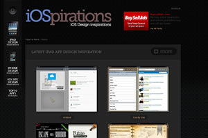 iPad and iPhone Design Inspirations Gallery